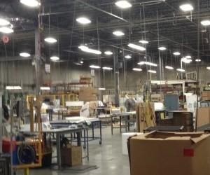 Industrial lighting installations